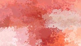 resuma el vídeo inconsútil manchado del lazo del fondo - efecto de la acuarela - viejo color anaranjado y pálido del rosa, de col metrajes