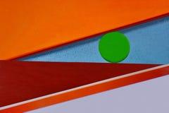Resuma la figura de los elementos coloreados Fotos de archivo