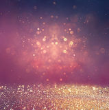 Resuma la foto borrosa de la explosión y de las texturas de la luz del bokeh Luz multicolora Foto de archivo libre de regalías