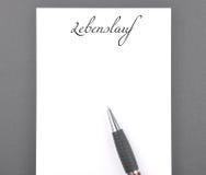 Resume Stock Image