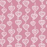 Resume el modelo de los corazones. Fotos de archivo