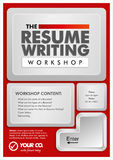 Resume writing Stock Photos