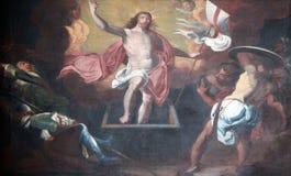 Resurrección de Cristo Fotos de archivo libres de regalías