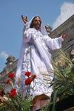 The resurrected Jesus royalty free stock photos