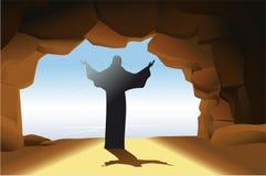 Resurrected Jesus Christ Royalty Free Stock Images