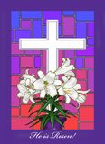 Resurrection. I digital illustration depicting resurrection day holiday Stock Image