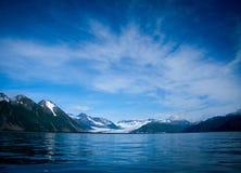 Resurrection Bay. Water and blue sky of Resurrection Bay Alaska Stock Photography