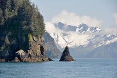 Resurrection Bay in Alaska. Resurrection Bay, Seward in Alaska Stock Photography