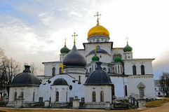 The Resurrection Cathedral stock photography