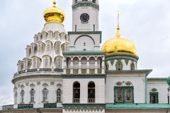 The Resurrection Cathedral in New Jerusalem Monastery, Russia Royalty Free Stock Photos