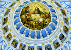 Resurrection Cathedral in New Jerusalem Monastery, Russia Stock Images