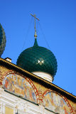 Resurrection Cathedral in Tutaev town Stock Image
