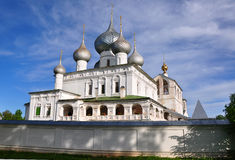 Resurrection Cathedral. Uglich, Russia Stock Photo