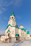 Resurrection Cathedral in Yuzhno-Sakhalinsk Stock Photos