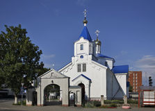Resurrection Church in Ashmyany. Belarus Stock Photos