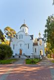 Resurrection church in Bykovo, Moscow region, Russia Royalty Free Stock Photography