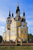 Resurrection church in Tomsk, Russia Stock Image