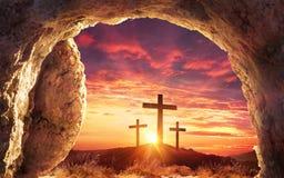 Resurrection Concept - Empty Tomb