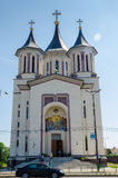 Resurrection Episcopal Cathedral in Oradea Stock Images