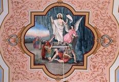 Resurrection of Jesus Royalty Free Stock Photos