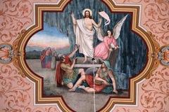 Resurrection of Jesus Stock Image