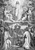 The resurrection of the Lord Jesus Christ. Royalty Free Stock Photos