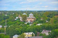 Resurrection maiden Monastery in Torzhok city Stock Images