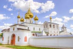 Resurrection monastery Uglich Royalty Free Stock Image