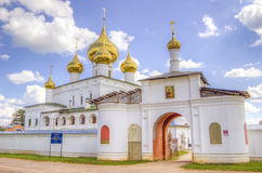 Resurrection monastery Uglich Stock Image