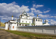 Resurrection monastery in Uglich, Russia Royalty Free Stock Photos
