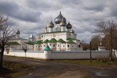 Resurrection Monastery in Uglich Stock Image