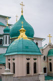Resurrection new Jerusalem monastery is historically Patriarchal monastery in the town of Istra, Moscow region. Royalty Free Stock Photo