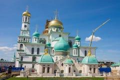 Resurrection New Jerusalem Monastery. Russia Stock Photo