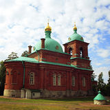The Resurrection skete. Valaam island, Russia. Stock Photos