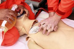 Resuscitation Royalty Free Stock Photos