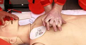 Resuscitation Royalty Free Stock Photography