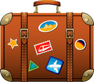 resväska stock illustrationer