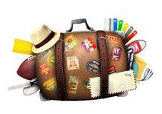 resväska royaltyfria bilder