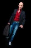 resväska för affärsman fotografering för bildbyråer