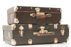 resväska två arkivbild