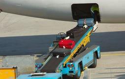 resväskaavlastning Royaltyfri Bild