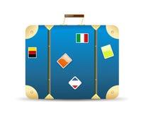resväskalopp vektor illustrationer