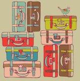 resväskalopp Royaltyfri Bild