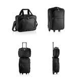 Resväskor och lopppåse, portfölj Royaltyfri Bild