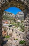 Resztki akwedukt w Stari barze obraz royalty free