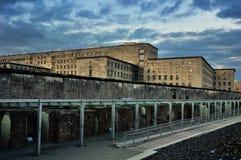 Resztki Berlińska ściana w Niemcy Zdjęcia Stock