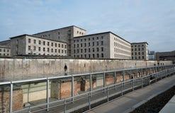 Resztki Berlińska Dziejowa ściana Obraz Stock
