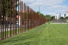 Resztki Berlińskiej ściany, Berlińskiej ściany pomnik/ Zdjęcia Stock