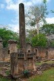 Resztki Gede w Kenja, Afryka Zdjęcie Royalty Free