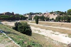 Cyrkowy Maximus, jawny park w Rzym, Włochy Zdjęcie Stock